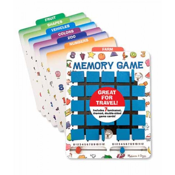 Top Travel Toys Games For Kids : Melissa and doug memory game toys